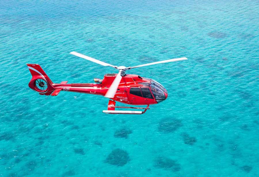Chopper Ride in Cairns