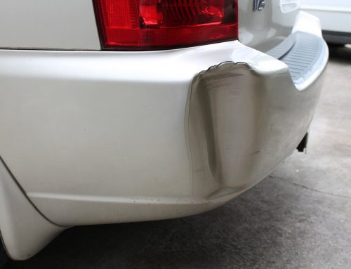 Rear Bumper Dent Repair Tips
